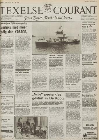 Texelsche Courant 1986-11-07