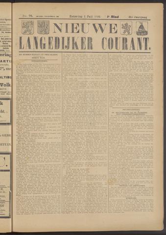 Nieuwe Langedijker Courant 1922-07-01