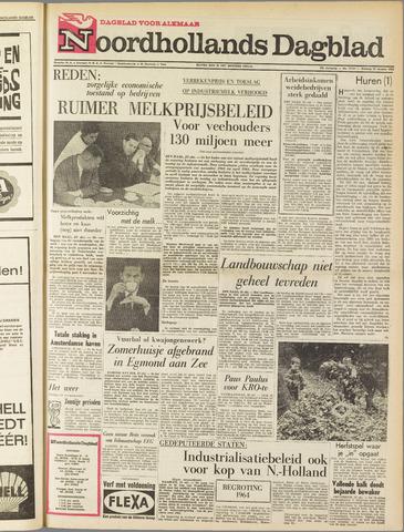 Noordhollands Dagblad : dagblad voor Alkmaar en omgeving 1963-10-22