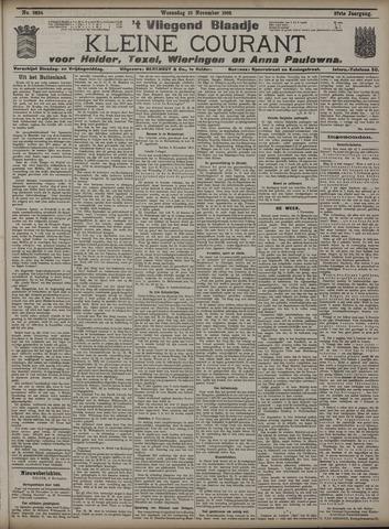 Vliegend blaadje : nieuws- en advertentiebode voor Den Helder 1909-11-10