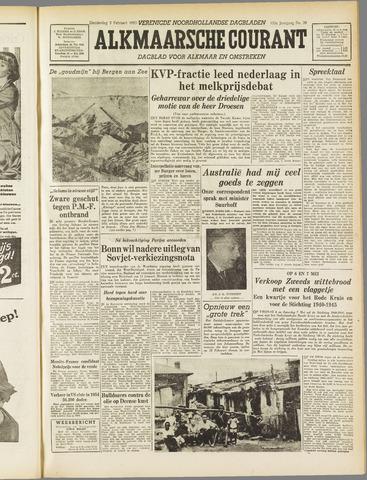 Alkmaarsche Courant 1955-02-03