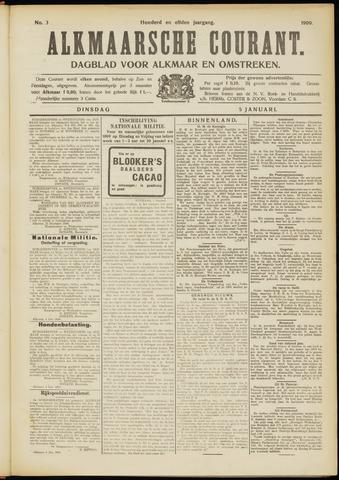 Alkmaarsche Courant 1909-01-05