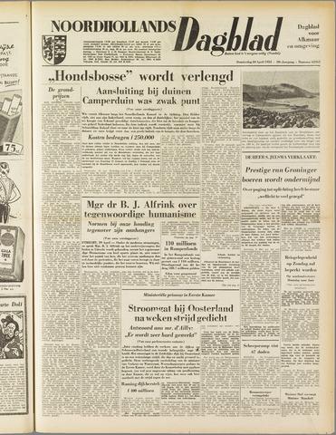 Noordhollands Dagblad : dagblad voor Alkmaar en omgeving 1953-04-30