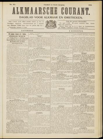 Alkmaarsche Courant 1908-08-08
