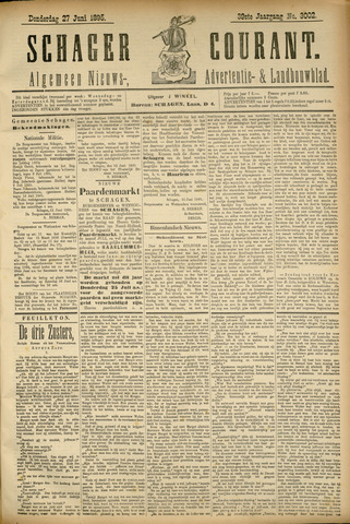 Schager Courant 1895-06-27