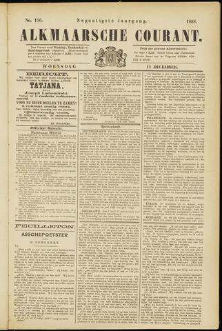 Alkmaarsche Courant 1888-12-12