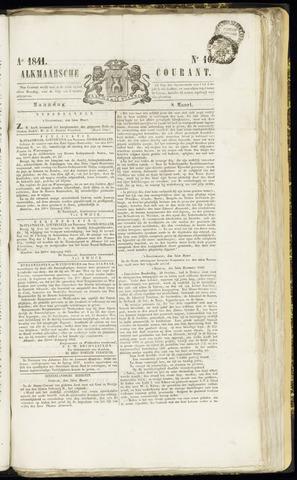 Alkmaarsche Courant 1841-03-08