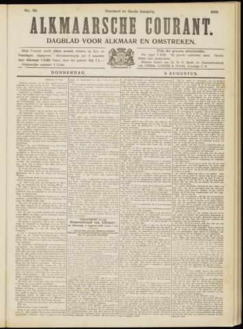 Alkmaarsche Courant 1908-08-06