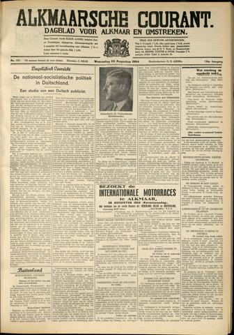 Alkmaarsche Courant 1934-08-22