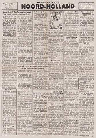 Dagblad Noord-Holland, Schager editie 1944-02-23