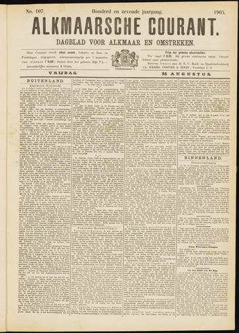 Alkmaarsche Courant 1905-08-25