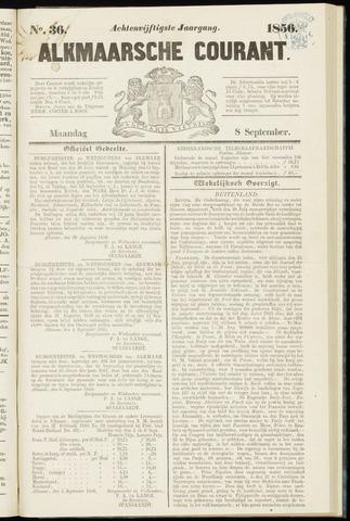 Alkmaarsche Courant 1856-09-08