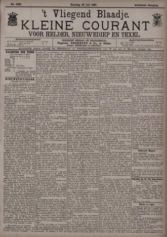 Vliegend blaadje : nieuws- en advertentiebode voor Den Helder 1890-07-26