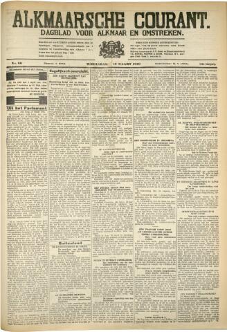Alkmaarsche Courant 1930-03-19
