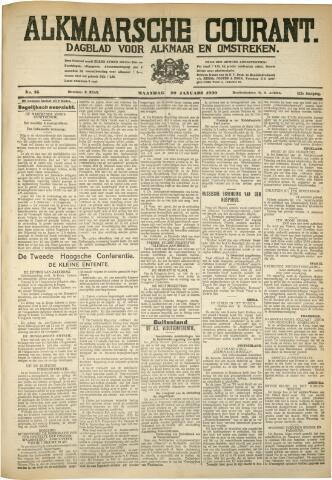 Alkmaarsche Courant 1930-01-20