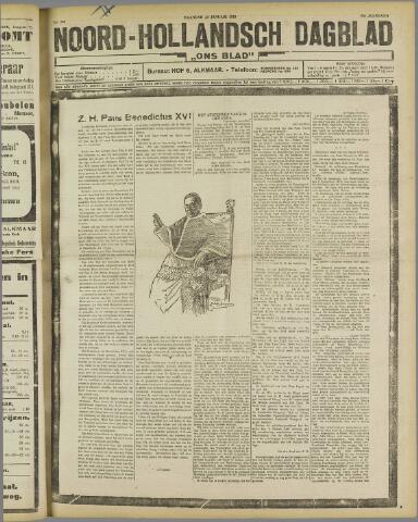 Ons Blad : katholiek nieuwsblad voor N-H 1922-01-23