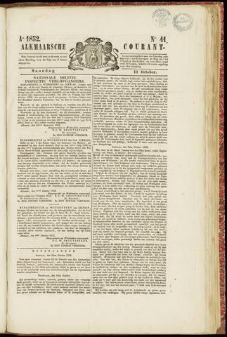 Alkmaarsche Courant 1852-10-11