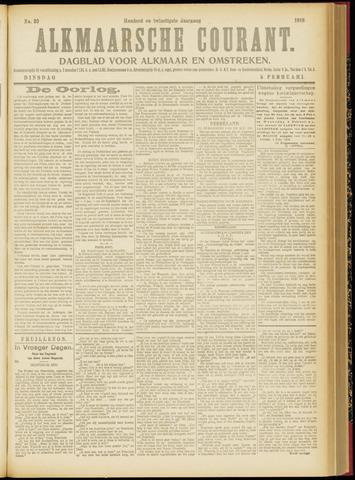 Alkmaarsche Courant 1918-02-05