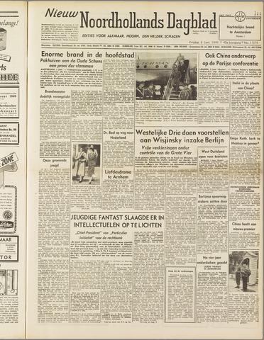 Nieuw Noordhollandsch Dagblad : voor Alkmaar en omgeving 1949-06-03