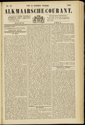 Alkmaarsche Courant 1886-05-09