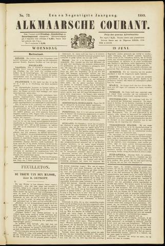 Alkmaarsche Courant 1889-06-19