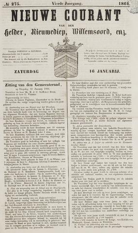 Nieuwe Courant van Den Helder 1864-01-16