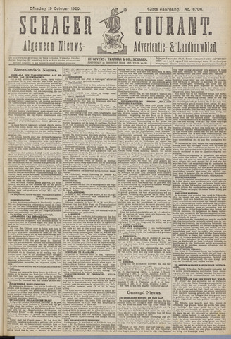 Schager Courant 1920-10-19