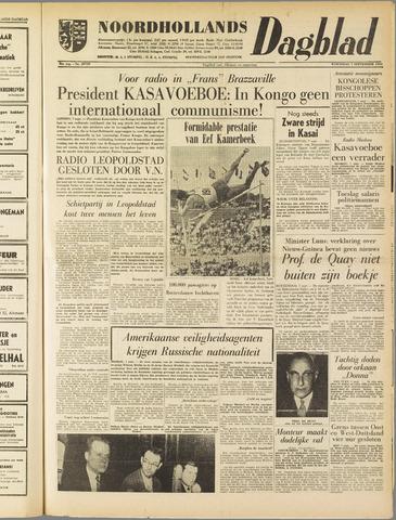 Noordhollands Dagblad : dagblad voor Alkmaar en omgeving 1960-09-07