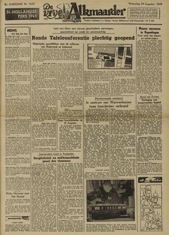 De Vrije Alkmaarder 1949-08-24