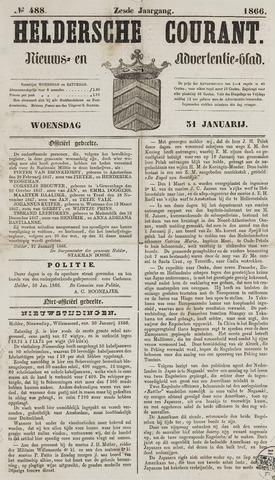 Heldersche Courant 1866-01-31