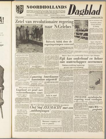 Noordhollands Dagblad : dagblad voor Alkmaar en omgeving 1958-04-26