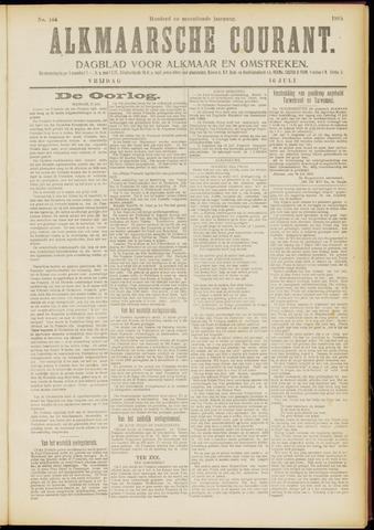 Alkmaarsche Courant 1915-07-16