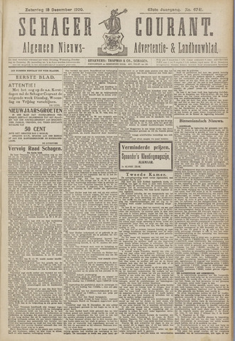 Schager Courant 1920-12-18