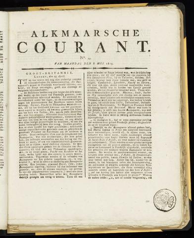 Alkmaarsche Courant 1815-05-08
