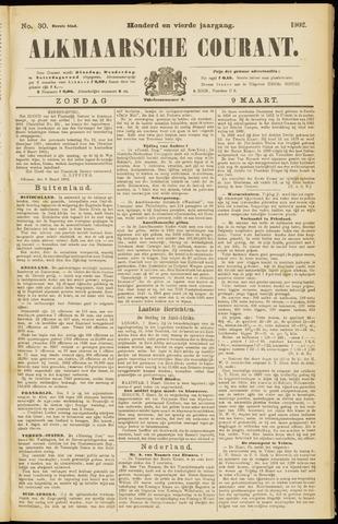 Alkmaarsche Courant 1902-03-09
