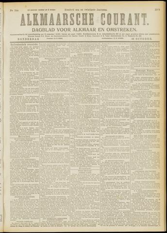 Alkmaarsche Courant 1919-10-16