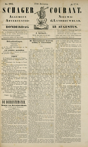 Schager Courant 1883-08-23