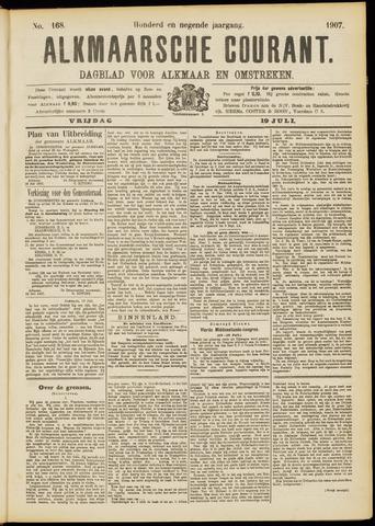 Alkmaarsche Courant 1907-07-19