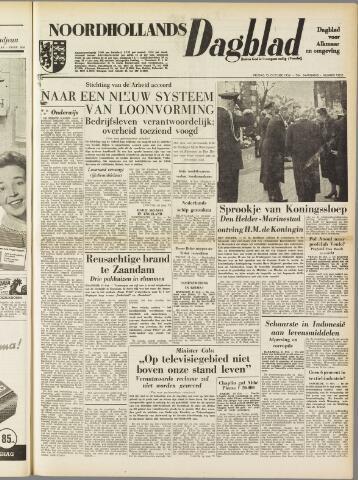 Noordhollands Dagblad : dagblad voor Alkmaar en omgeving 1954-10-15