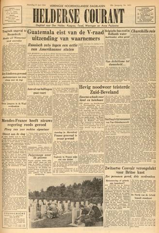 Heldersche Courant 1954-06-21