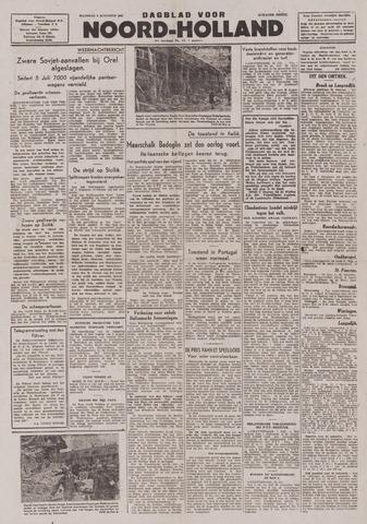Dagblad Noord-Holland, Schager editie 1943-08-02
