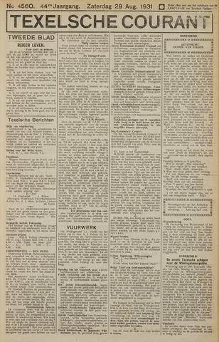 Texelsche Courant 1931-08-29