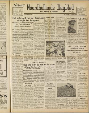 Nieuw Noordhollandsch Dagblad : voor Alkmaar en omgeving 1947-06-28