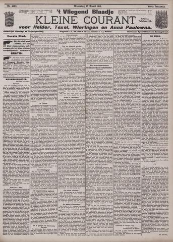 Vliegend blaadje : nieuws- en advertentiebode voor Den Helder 1912-03-27
