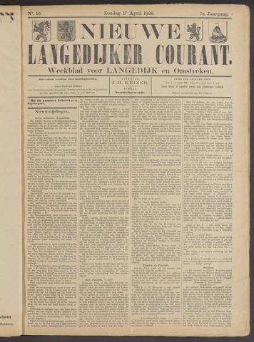 Nieuwe Langedijker Courant 1898-04-17