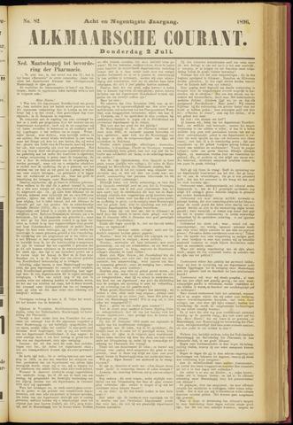 Alkmaarsche Courant 1896-07-02