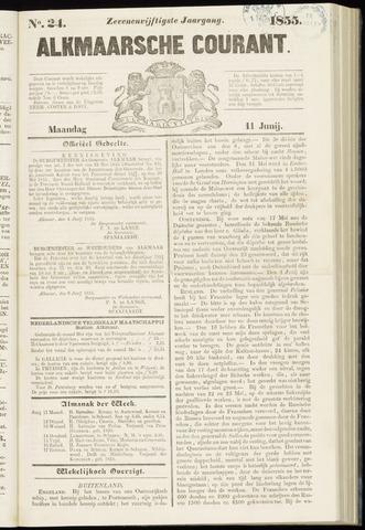 Alkmaarsche Courant 1855-06-11