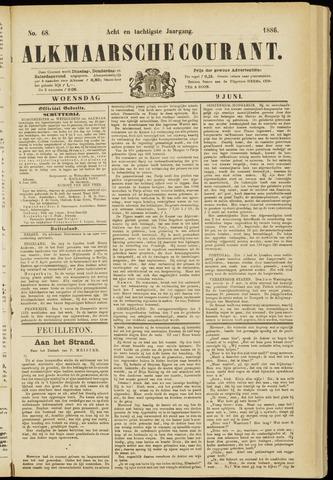 Alkmaarsche Courant 1886-06-09