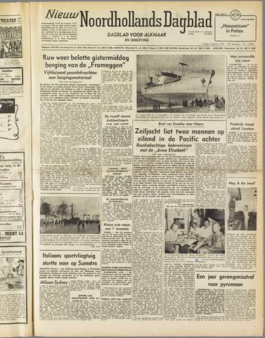 Nieuw Noordhollandsch Dagblad : voor Alkmaar en omgeving 1952-01-04