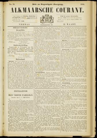 Alkmaarsche Courant 1891-03-13